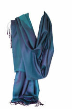 Tassels Silk Scarves and Wraps for Women