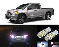 Premium LED Reverse Backup Light Bulbs for 2004 - 2015 Nissan Titan T15 42SMD