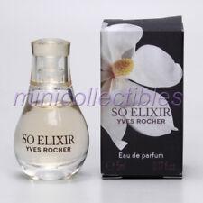 Yves Rocher SO ELIXIR EDT 5 ml Mini Perfume Miniature Bottle New in Box
