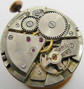 Eta 1080 17 jewels manual incabloc Watch Movement for part or project