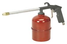 """Sealey Long Nozzle Paraffin/Diesel 1/4"""" Bsp Air Spray Gun Engine Cleaner SA333"""