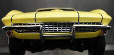 1 1965 Vette Corvette Chevy Sport Car 43 Vintage 18 Race 24 Carousel Yellow 12