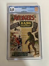 Avengers #8 Marvel Comics 1964 CGC 3.0 Off White 1st App Of Kang The Conqueror
