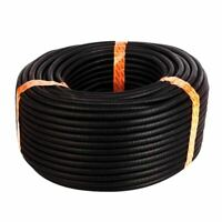 25 Ft 3/8 inch Split Wire Loom Conduit Polyethylene Tubing Black Color Slee I5Q2
