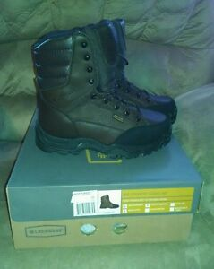 """LACROSSE 10"""" BIG COUNTRY MENS 400g  WATERPROOF BOOTS SIZE 8 Wide NEW SAVE $70"""