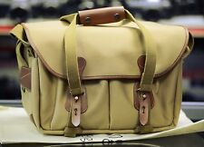 Billingham 335 Camera Bag. Canvas and Tan Leather. Very Clean Current Model