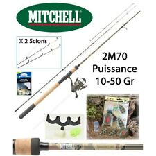 Pack Feeder Mitchell Tanager Camou 2M70 + Moulinet Mitchell Tanager + Accessoire
