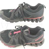 Reebok Mens 023501 Black Red Athletic Zigtech Running Size 10.