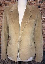 UO Urban Renewal Silver Unicorn Women's Corduroy Coat SIze 5 ~ Vintage Fabric