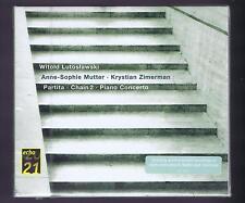 LUTOSLAWSKI CD (NEW) K.ZIMMERMAN ANNE SOPHIE MUTTER PARTITA