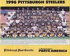 1996 PITTSBURGH STEELERS FOOTBALL TEAM 8X10 PHOTO #2