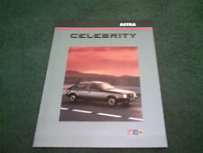 March 1984 Vauxhall ASTRA CELEBRITY Special Edition FOLDER BROCHURE - V5236