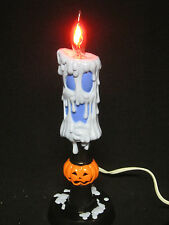 Halloween Decoration Electric Gothic Skull Skeleton Candle Jack-O-Lantern