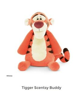 Scentsy Disney Tigger Buddy With Hundred Acre Scent Pak New In Box