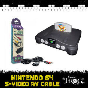 Nintendo 64 - N64 - S-VIDEO AV / RCA Cable - High-Definition - Stereo / Video