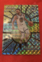 2019-20 PANINI MOSAIC STEPHEN CURRY CENTER STAGE SILVER PRIZM WARRIORS SP & LOT