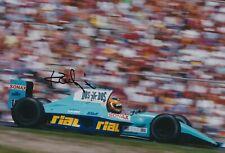 Karl Wendlinger Hand Signed 12x8 Photo - March F1 - Formula 1.