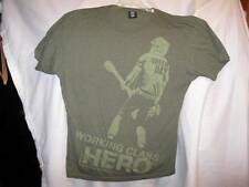 Green Day Working Class Hero Olive Green Mens Tshirt Size 2XL XXL Nice (O) AS IS