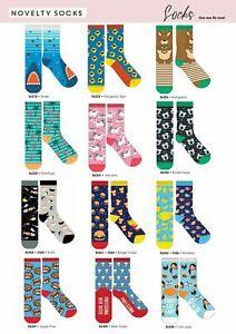 NEW Novelty Fun Socks - Latest Craze in Socks! Over 85 Funny Designs to Choose!