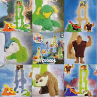 McDonalds Happy Meal Toy 2013 Dreamworks The Croods Movie Toys - Various