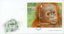 GUERNSEY 2014 ENDANGERED SPECIES FDC LOT R3363