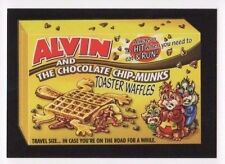 2017 Wacky Packages 50th Anniversary red ludlow back Alvin chip-munks 22/25