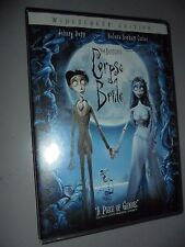 DVD TIM BURTON'S  CORPSE BRIDE