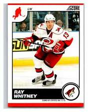 (HCW) 2010-11 Score Glossy #368 Ray Whitney Coyotes Mint