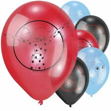 Pack of 6 Official MIRACULOUS LADYBUG Party BALLOONS Latex
