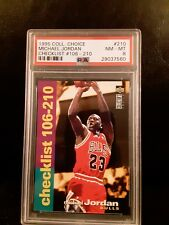 5a11b7446a5 Upper Deck Michael Jordan Checklist Basketball Trading Cards for ...