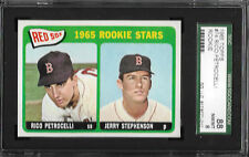 1965 Topps #74 Rico Petrocelli Red Sox Rookies SGC 8 (88)