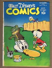 Walt Disney's Comics and Stories 72 (G-) Dell 1946, Carl Barks (c#00438)