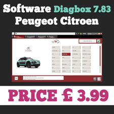 DiagBox 7.83 logiciel pour Citroen/Peugeot Lexia 3 interface-téléchargeable vers.