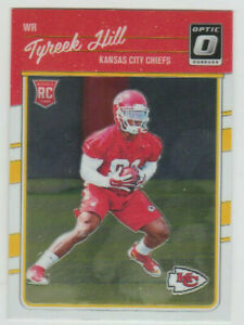TYREEK HILL Chiefs 2016 Donruss Optic Rated Rookie #117 SP RC Mint SEE SCANS
