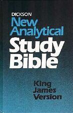 KJV - Dickson's New Analytical Study Bible, Thomas Nelson, Good Book