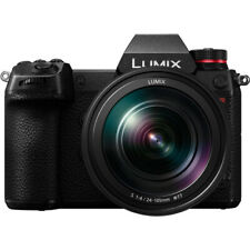 Panasonic Lumix 47.3MP DC-S1R Mirrorless Digital Camera with 24-105mm Lens