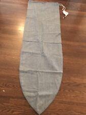 Surplus surf bag - 6ft - Made In Ca - New - Surfboard Sock - Japanese Denim -
