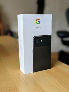 Google Pixel 3a - 64GB - Just Black (Unlocked) (Single SIM)
