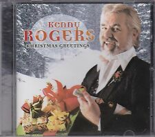 KENNY ROGERS - CHRISTMAS GREETINGS on CD -  NEW -