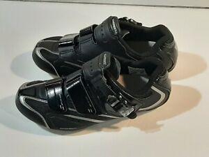 Shimano SH-WR42L Cycling Shoe 37 US 5.5 Women's Road Bike NEW $120 Black SPD