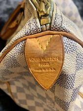 Authentic Louis Vuitton Speedy 30 Damier Azur Print