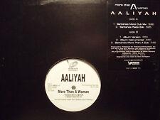 "AALIYAH + TIMBALAND - MORE THAN A WOMAN (+REMIX) (12"")  2002!!!  RARE!!!"