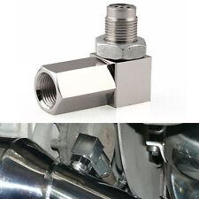 90 Degree CEL Check Engine Light Bungs O2 Sensor Real Mini Catalytic Converter