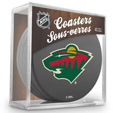 Official National Hockey League Licensed Minnesota Wild Coaster Set