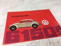 Audi Volkswagen prospectus brochure dépliant publicité catalogue vintage