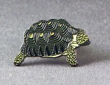 Metal Enamel Pin Badge Brooch Tortoise Tortus Slow Reptile Vertebrates Shell
