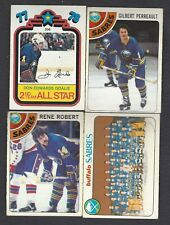 1978-79 OPC💎Buffalo Sabers Set (23)💎 NHL 23/24 EX Condition