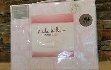 *NEW* Nicole Miller Home Kids Full 3 Pc Elephant Hearts Duvet Set Polyester Soft