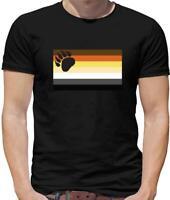 Lgbt Flags Brother Bear Mens T-Shirt - Pride - Gay - Bi - Lesbian - Trans - Sex
