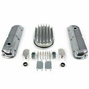 SBF 12 Deep Oval/Finned Engine Dress Up kitw/ Breathers (No PCV) 289-351 truck